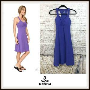 Prana Dresses - Prana Ultra Violet Purple Shauna Racerback Dress